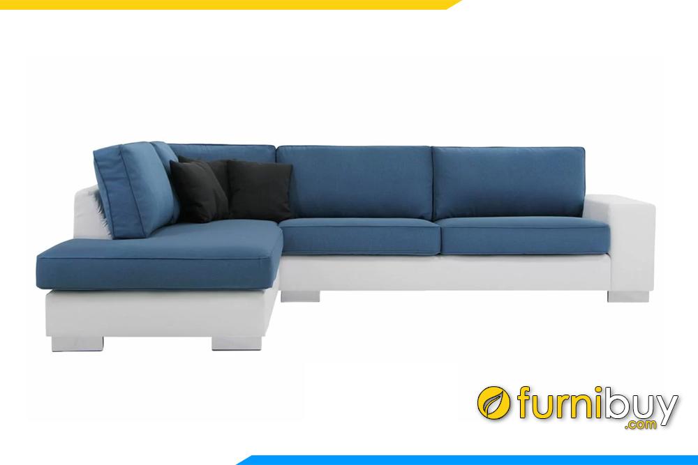 Hình ảnh bộ ghế sofa góc chữ L cho phòng khách FB20138