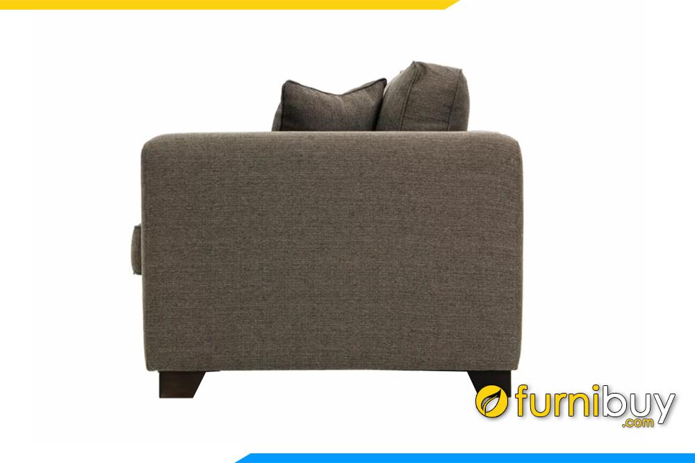 Ghế sofa có độ sâu ghế 80cm không hề chiếm nhiều diện tích phòng khách
