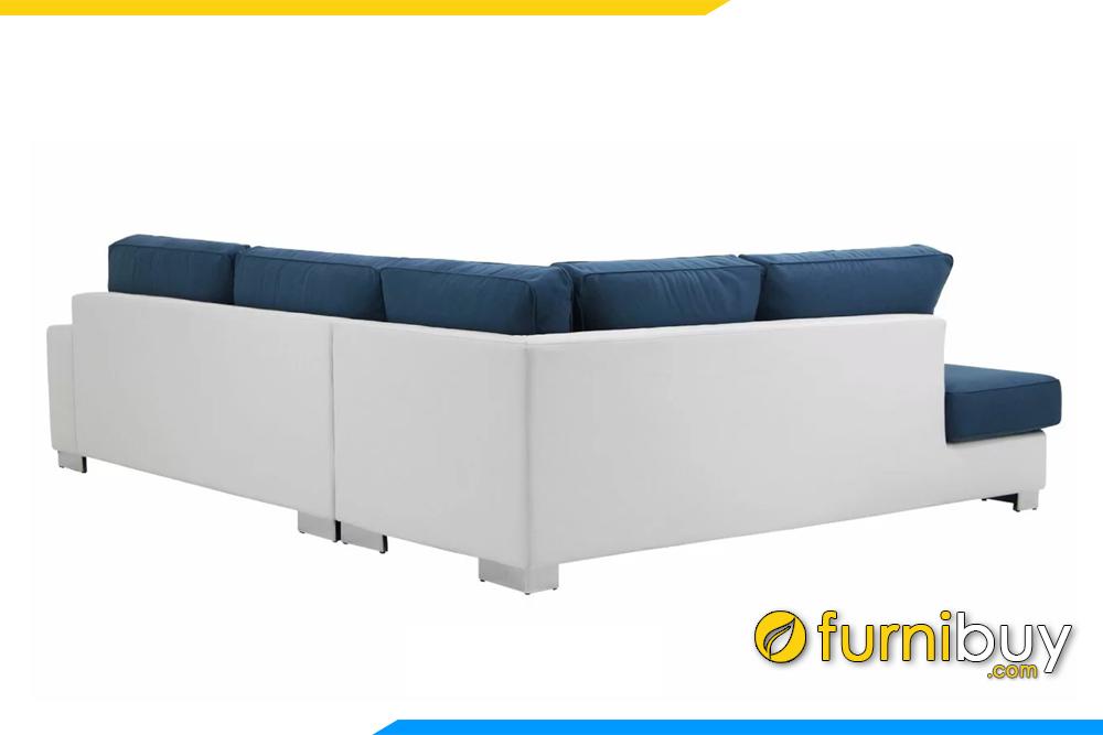 Lưng ghế sofa với thiết kế cao rất thoải mái khi dựa lưng vào