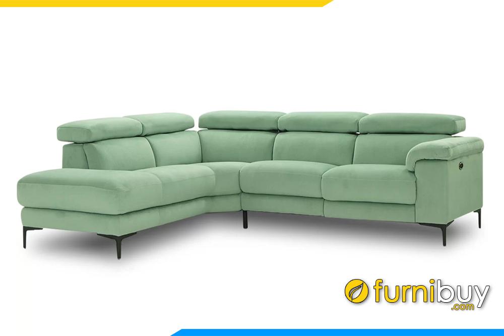 Hình ảnh bộ ghế sofa góc cho phòng khách hiện đại FB20135