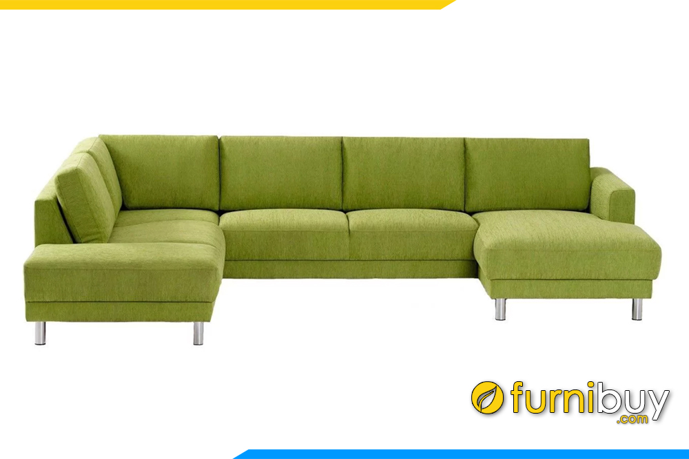 Mẫu ghế sofa góc chữ U cho phòng khách rộng sang trọng FB20133