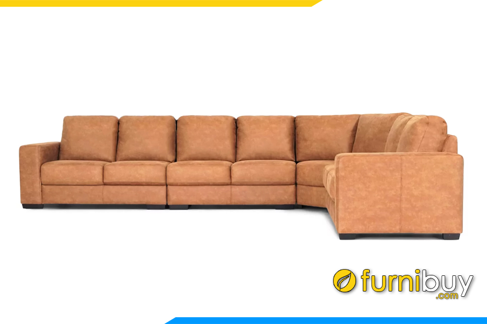 Hình ảnh mẫu ghế sofa góc phòng khách đẹp FB20136