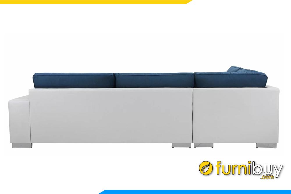 thân bộ sofa được tách làm đôi tạo thuận lợi cho việc vận chuyển, lắp đặt
