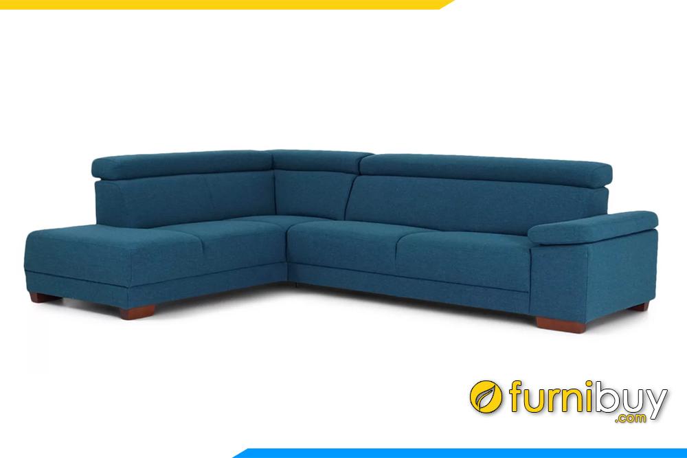 Bộ ghế sofa FB20140 với chất liệu vỏ bọc bằng nỉ rất mềm mại, thoáng khí rất được ưa chuộng hiện nay