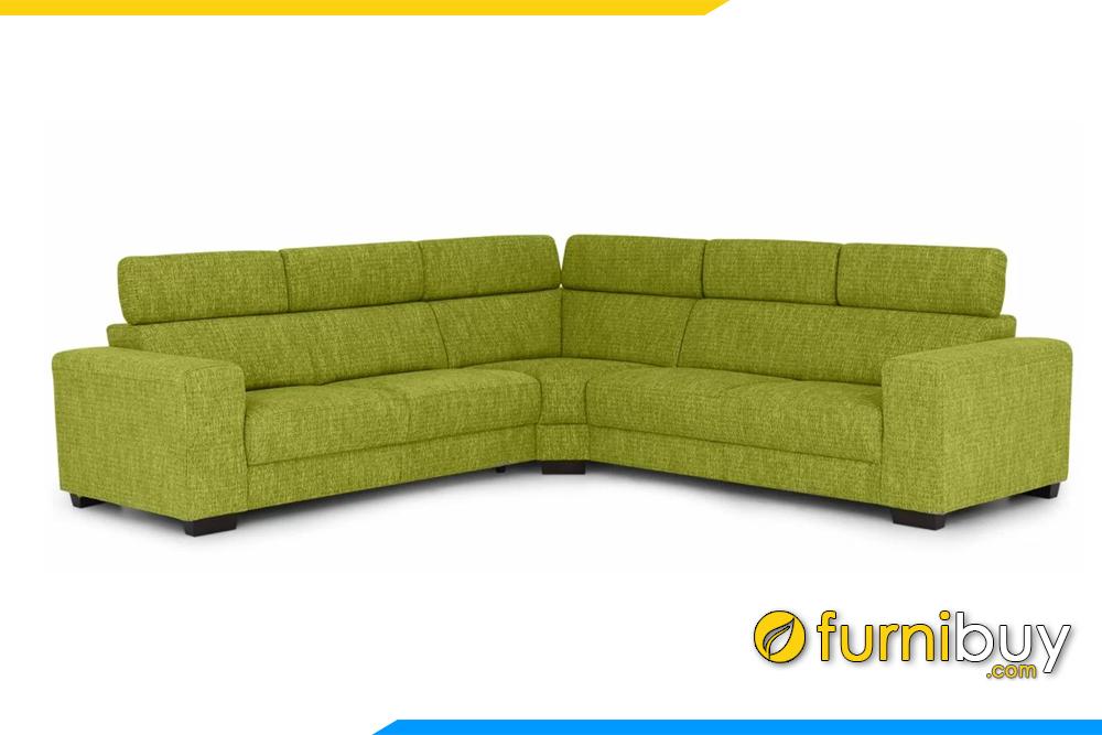 Ghế sofa được thiết kế chắc chắn, rất sang trọng bề thế không kém gì ghế sofa bọc da