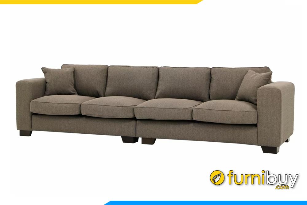 Với 4 chỗ ngồi rộng rãi bạn có thể nằm nghỉ thư gian ngay trên bộ sofa nhà mình