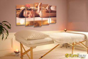 Tranh bộ spa cô gái treo tường đẹp AmiA 1650