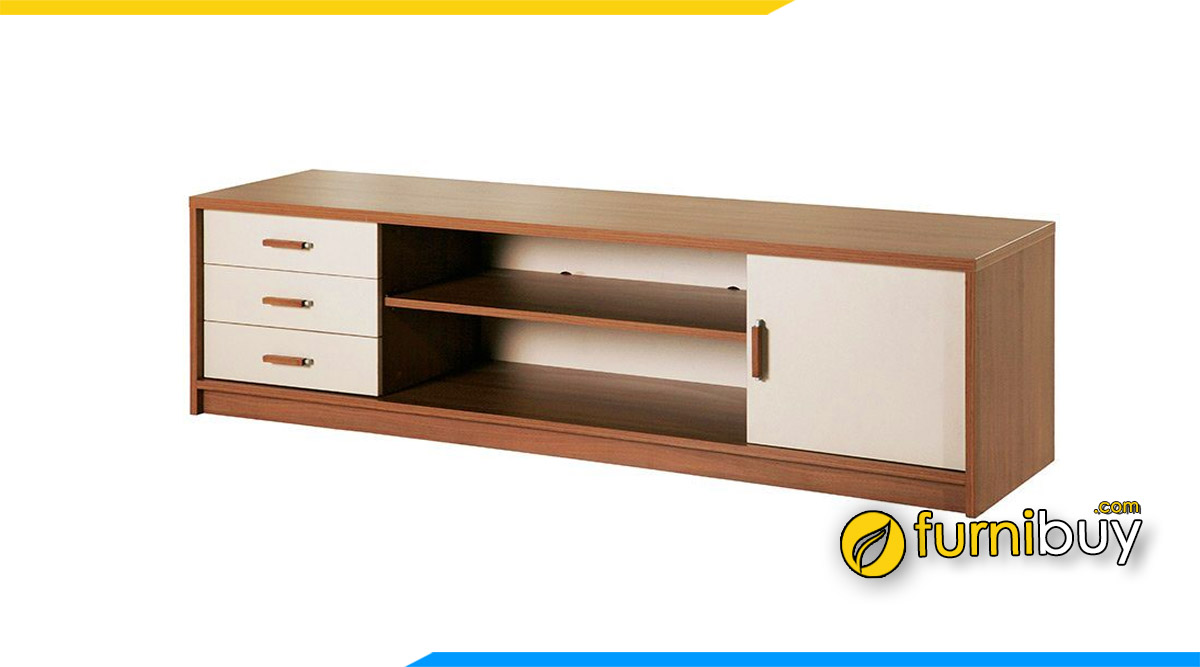 Ảnh chiếc kệ tivi gỗ công nghiệp 1m8 hình hộp giá rẻ