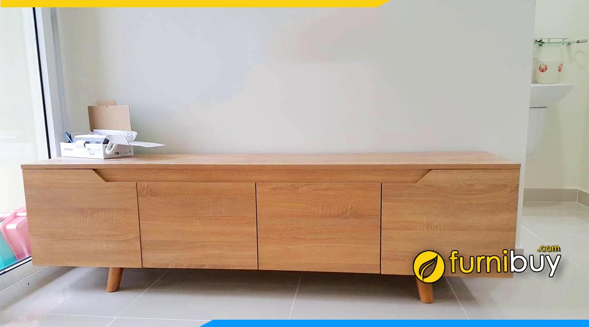 Hình ảnh kệ tivi đẹp gỗ công nghiệp kích thước 1m8