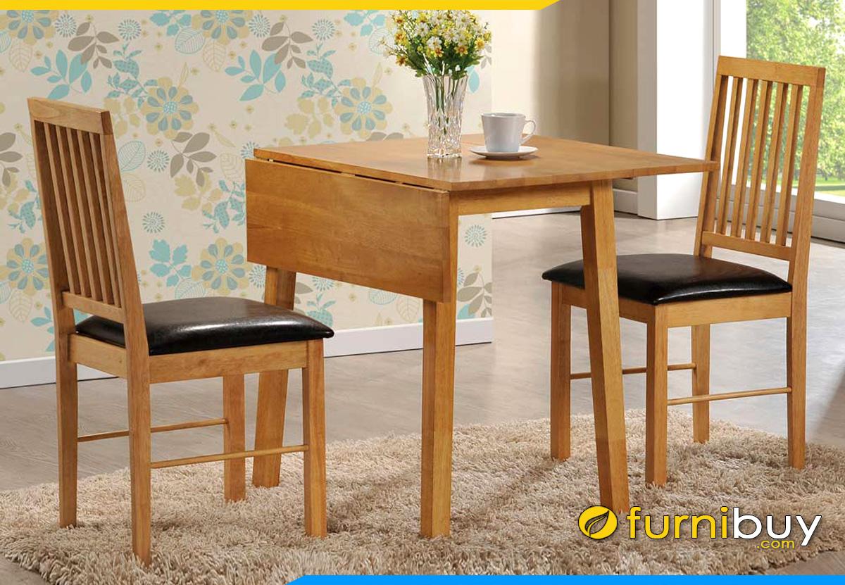 Hình ảnh bàn ăn 2 ghế giá rẻ thông minh
