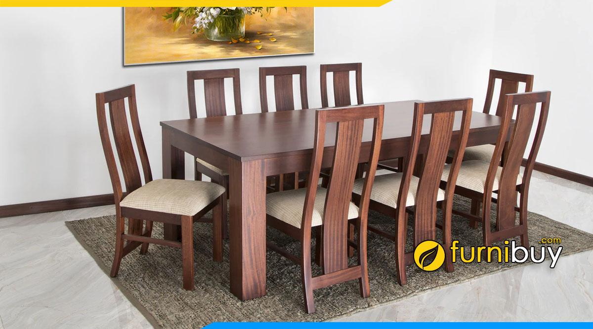 Hình ảnh Bộ bàn ăn 8 ghế đẹp hiện đại bán chạy năm 2020