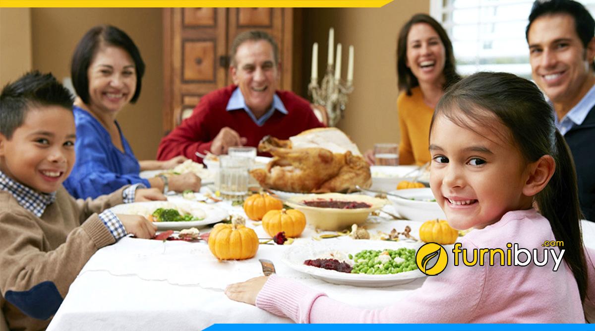 Hình ảnh Bộ bàn ghế ăn đẹp cho gia đình 6 người