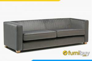 Mẫu ghế sofa văng da FB20156 mang dáng dấp cổ điển rất hiện đại