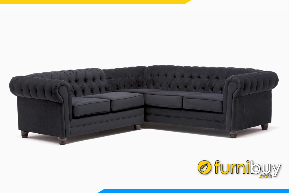 Hình ảnh mẫu ghế sofa phòng khách kiểu dáng tân cổ điển đẹp FB20162
