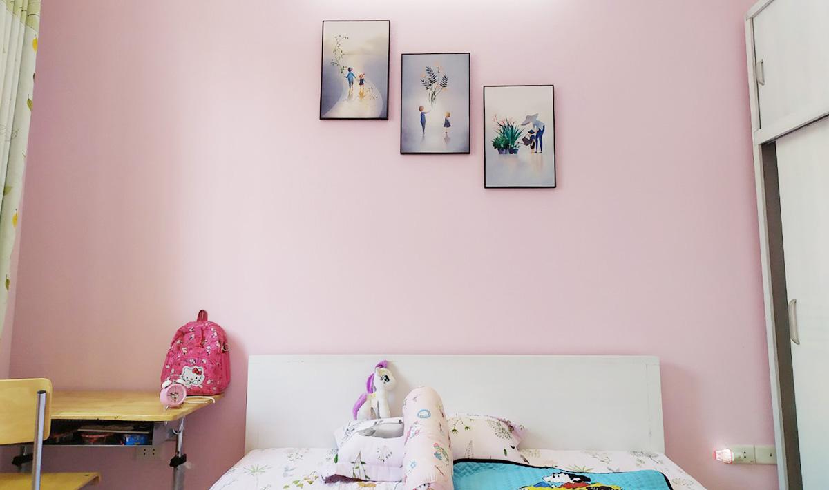 Hình ảnh Bộ tranh treo phòng bé gái đẹp nhẹ nhàng