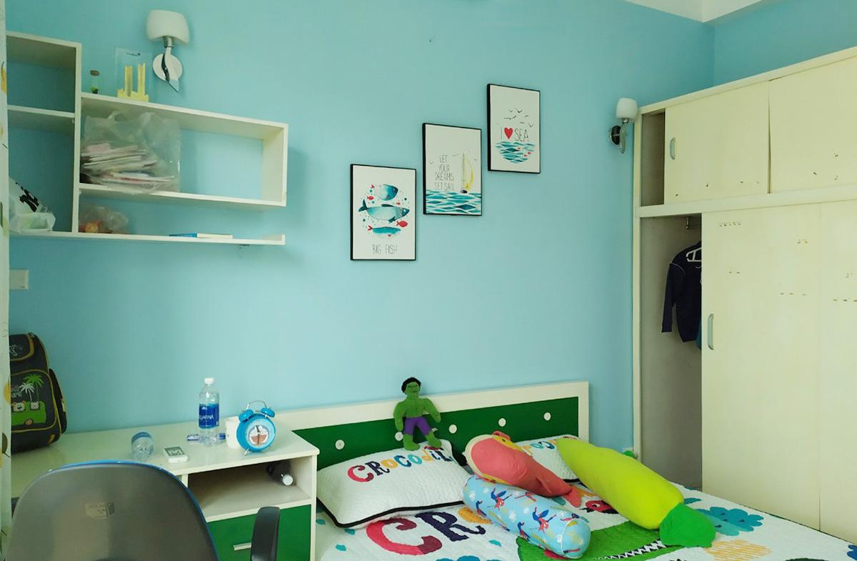 Hình ảnh Bộ tranh treo phòng bé trai đẹp chủ đề biển cả