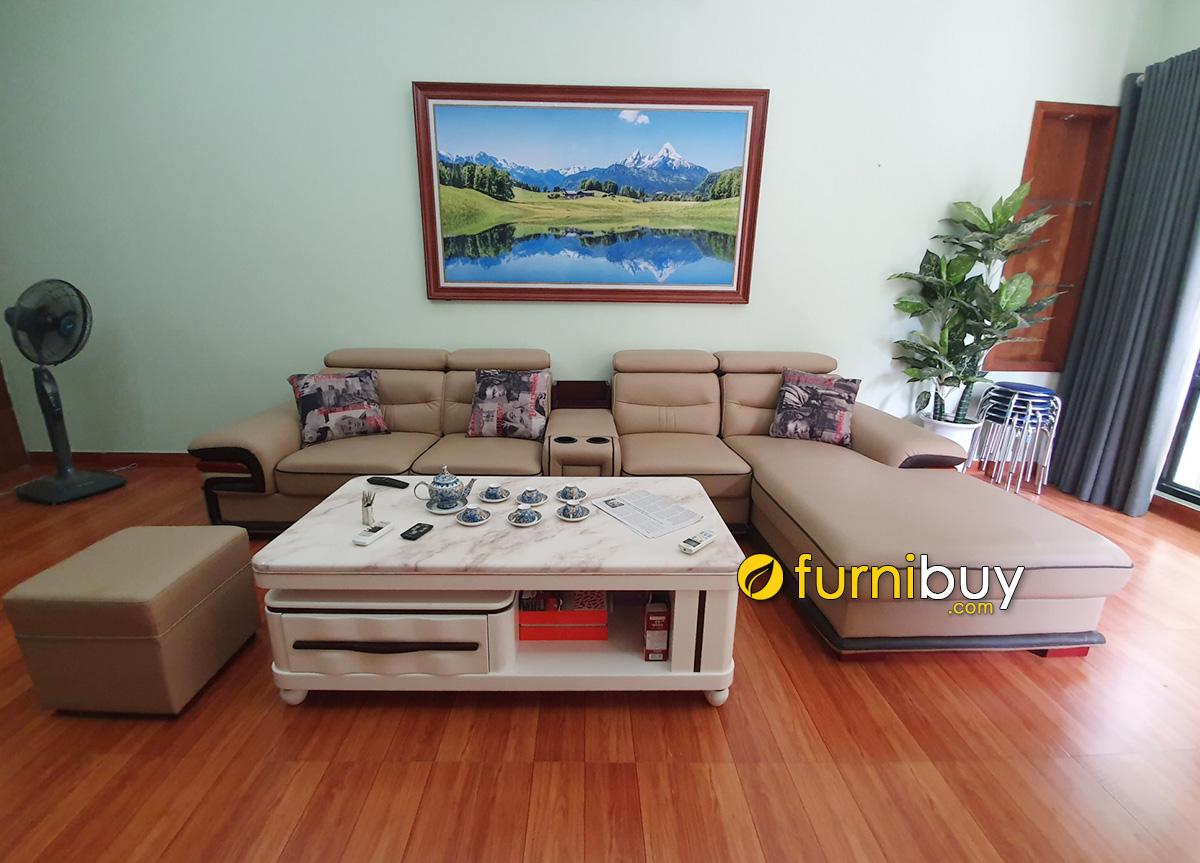 Hình ảnh Bức tranh phòng khách đẹp cho nhà rộng thiết kế 1 tấm