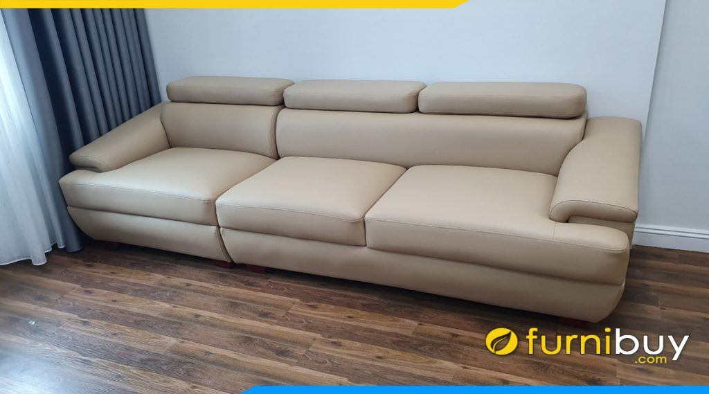 ghe sofa vang 3 cho ngoi ke phong khach