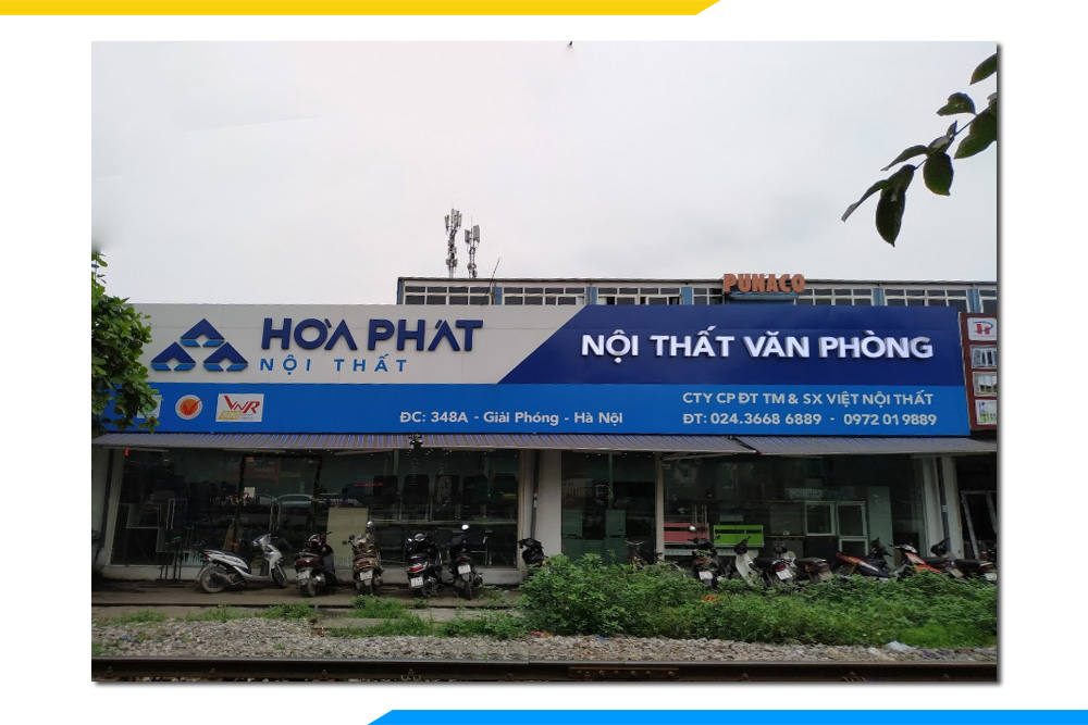 Dia chi showroom noi that van phong hoa phat o ha noi
