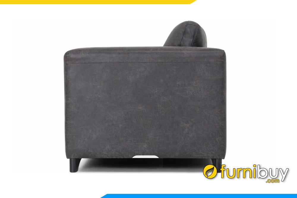 Với chất liệu da giúp bạn dễ dàng vệ sinh bề mặt ghế khi bị bẩn
