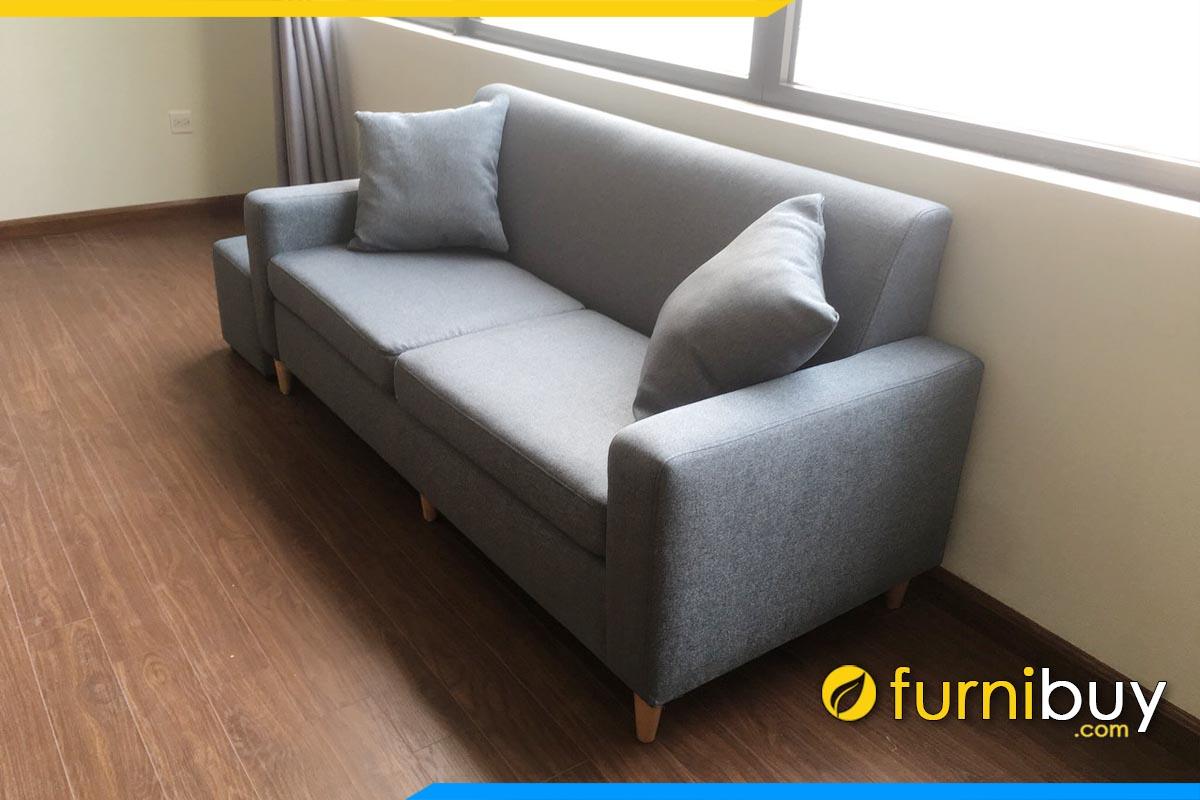 ghe sofa mini 2 cho ngoi ke phong khach don gian
