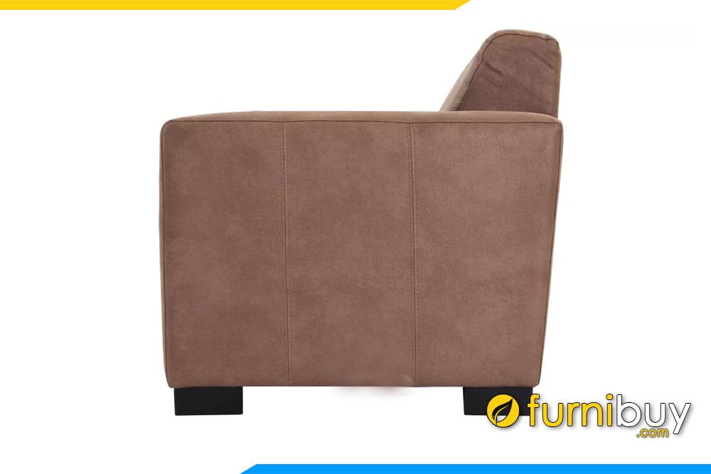 Ghế sofa có bề ngang hẹp không hề chiếm nhiều diện tích phòng khách gia đình