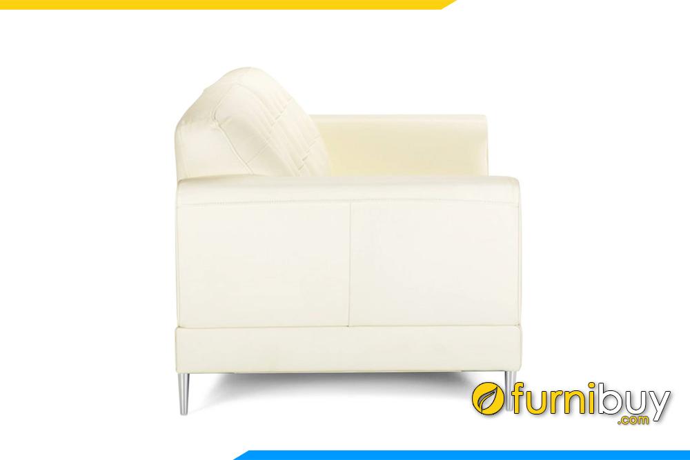 Chiều rộng của ghế khoảng 80cm rất phù hợp kê những phòng khách nhỏ có 1 chiều dưới 2,5m