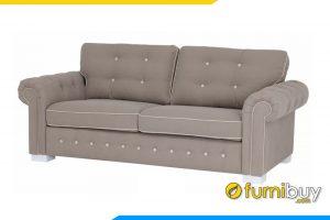 Kiểu dáng văng 2 chỗ ngồi hiện đại bạn có thể nằm nghỉ thư giãn ngay trên bộ sofa của gia đình mình