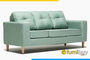 Ghế sofa được bọc bởi lớp nỉ nhung mềm mại bên ngoài