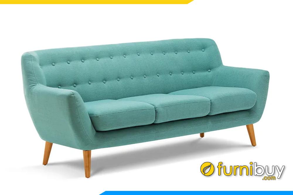 Hình ảnh mẫu ghế sofa văng chất liệu nỉ điện đại FB20153
