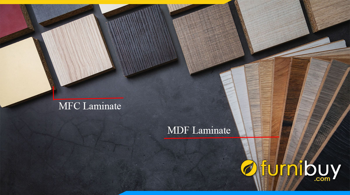 Go cong nghiep laminate cot go mfc, mdf, hdf