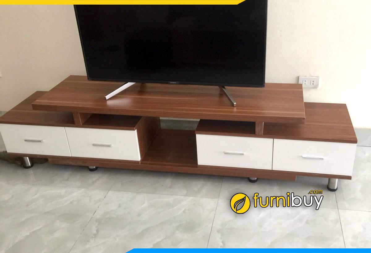 Hình ảnh Kệ tv gỗ giá rẻ phòng khách kích thước 1m8