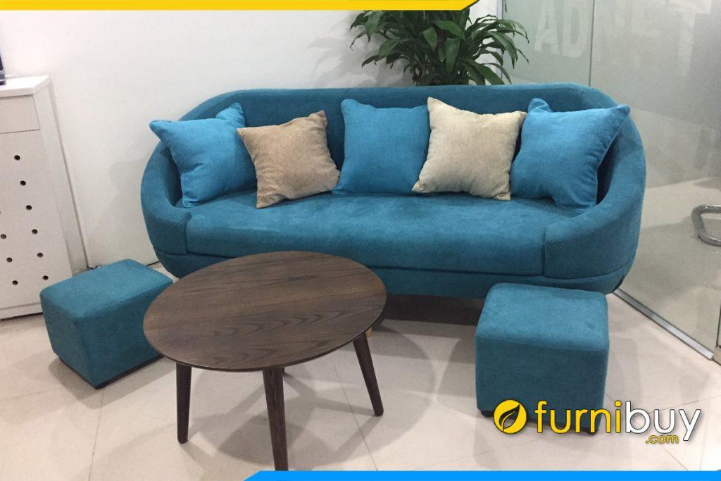 sofa van phong gia re dang vang