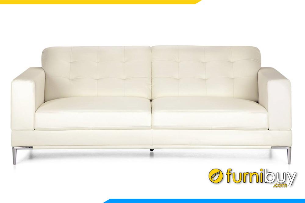 Ghế sofa được thiết kế kiểu dáng văng nhỏ gọn không hề chiếm nhiều diện tích kê