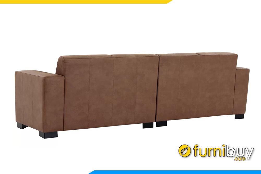 Bộ sofa văng được chia thành 2 văng nhỏ để tiện cho việc vận chuyện, lắp đặt đến nhà khách hàng
