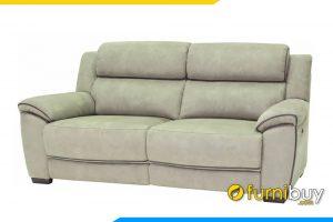 Kiểu dáng văng nhỏ gọn với những đường may thiết kế tỉ mỉ giúp cho bộ sofa sang trọng hơn