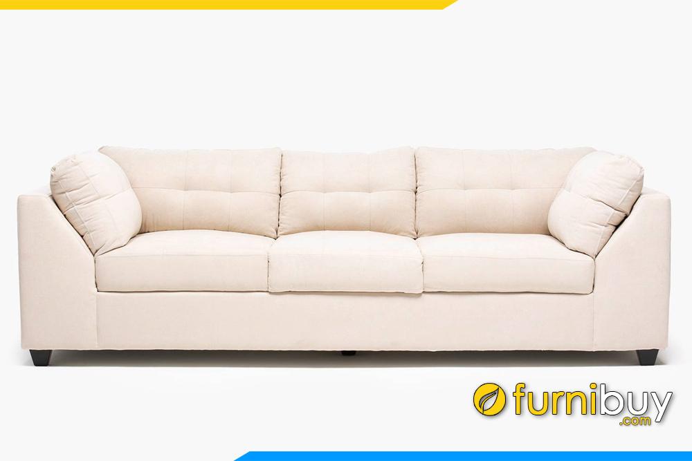 Hình ảnh sofa văng cho phòng khách nhỏ đẹp, hiện đại FB20155