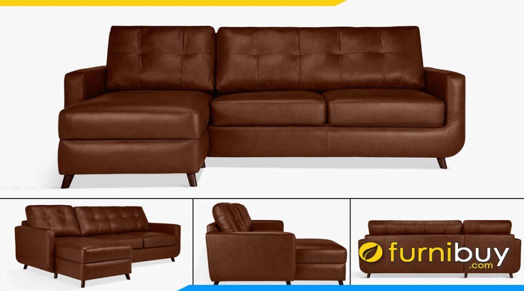 mau ghe sofa da dang goc rut chi tua lung