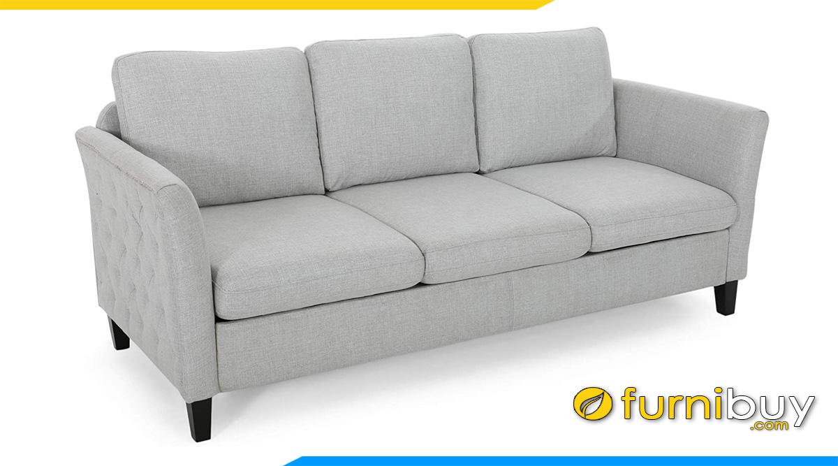 mau sofa vang 3 cho ke phong khach nho
