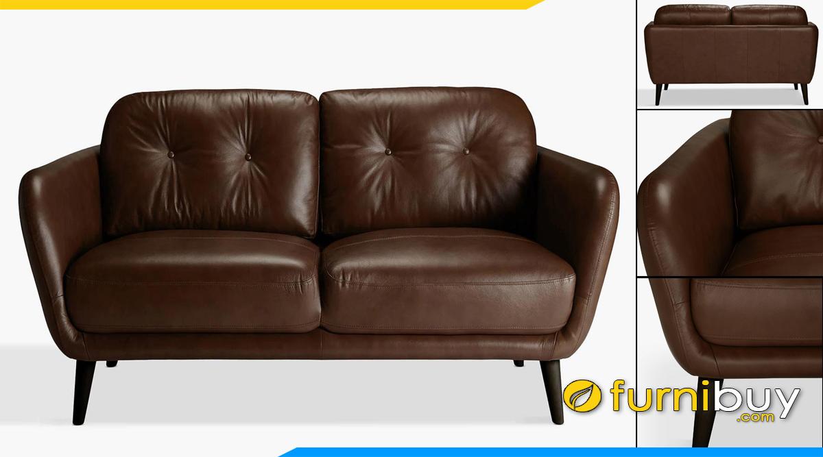 mau sofa vang da phong khach mau cafe