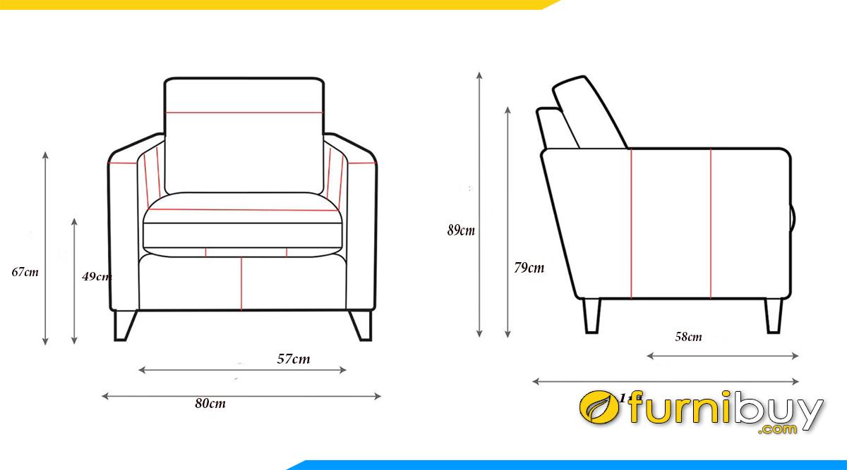 sofa don co kich thuoc dai 80cm