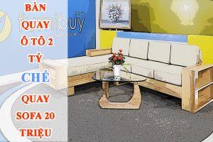 Sofa gỗ Sồi góc chữ L có đệm
