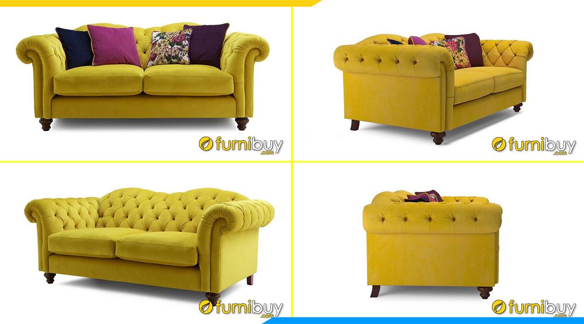sofa ni vang tan co dien dep