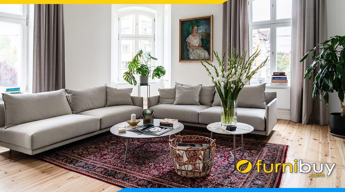 sofa phong khach dep gia re