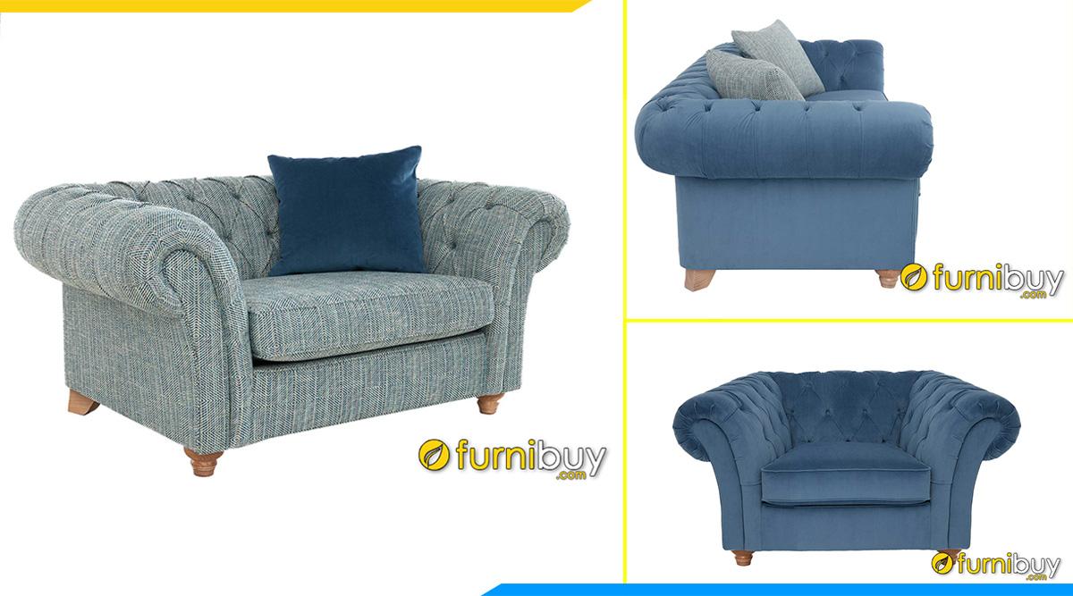 sofa vai ni don tan co dien dep