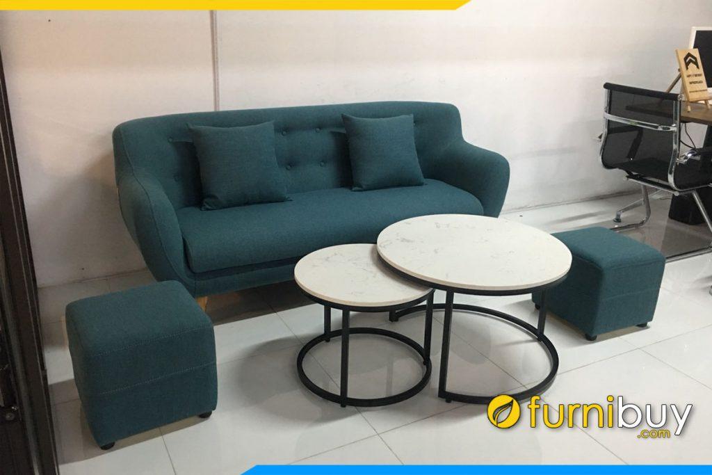 sofa vang thuyen ke phong lam viec mau xanh