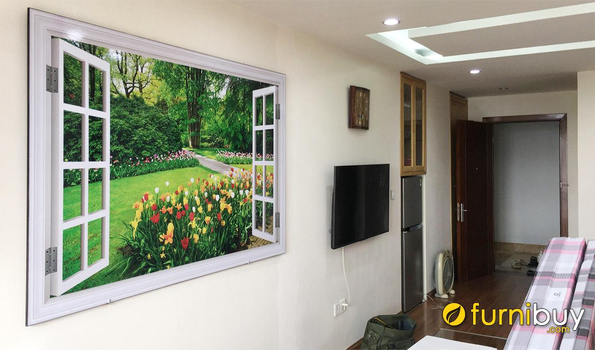 Hình ảnh Tranh nhà chung cư đặt làm theo yêu cầu tại Furnibuy