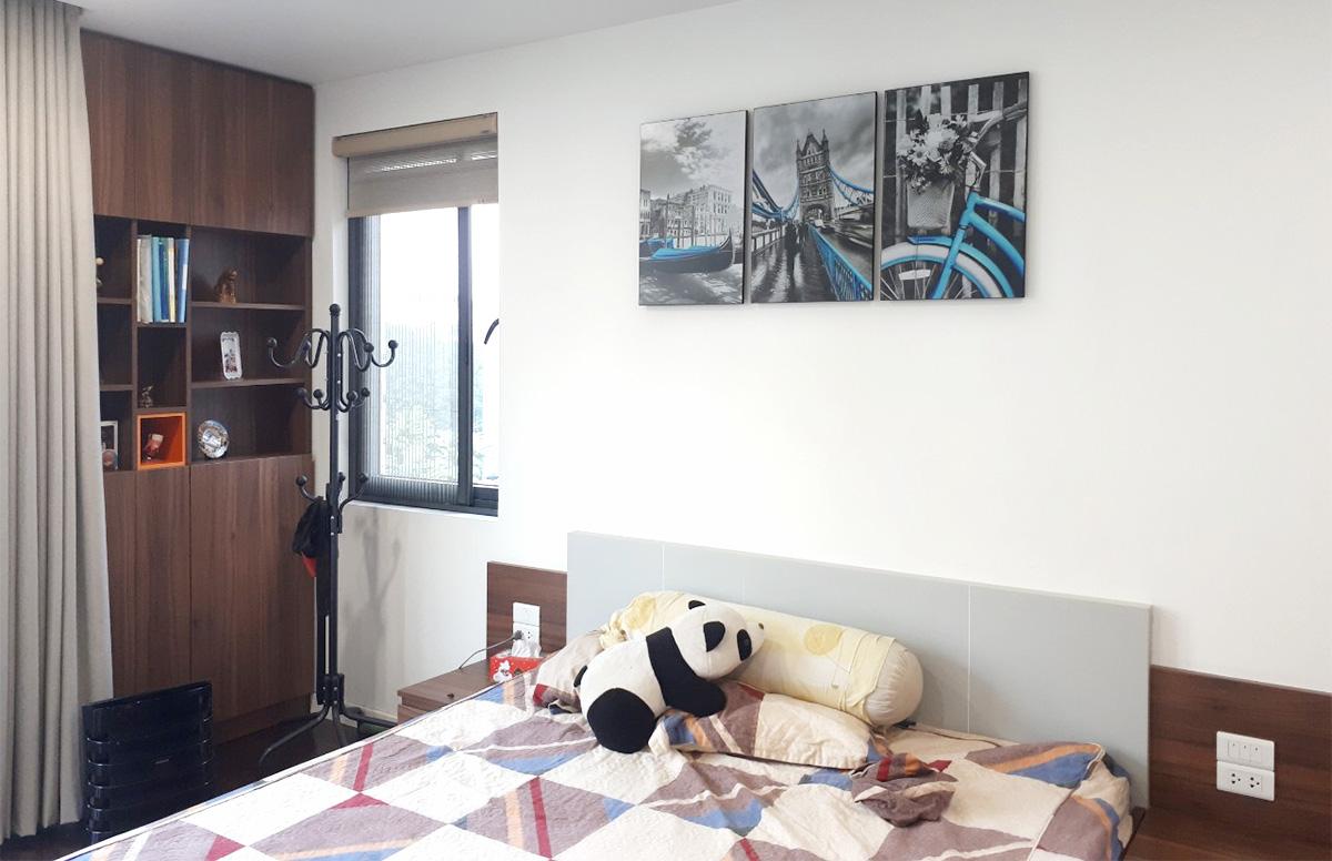 Hình ảnh Tranh phòng ngủ đẹp ghép bộ 3 tấm
