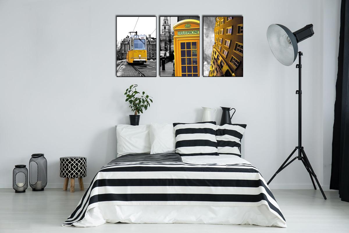 Hình ảnh Tranh phong thủy mệnh kim treo phòng ngủ đẹp