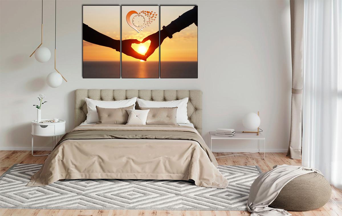 Hình ảnh Tranh tình yêu trang trí phòng ngủ vợ chồng mới cưới mã 329